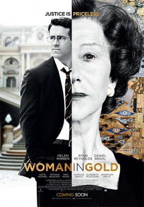 Movie poster ot the film The Woman in Gold