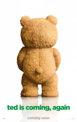 Movie poster ot the film Ted 2