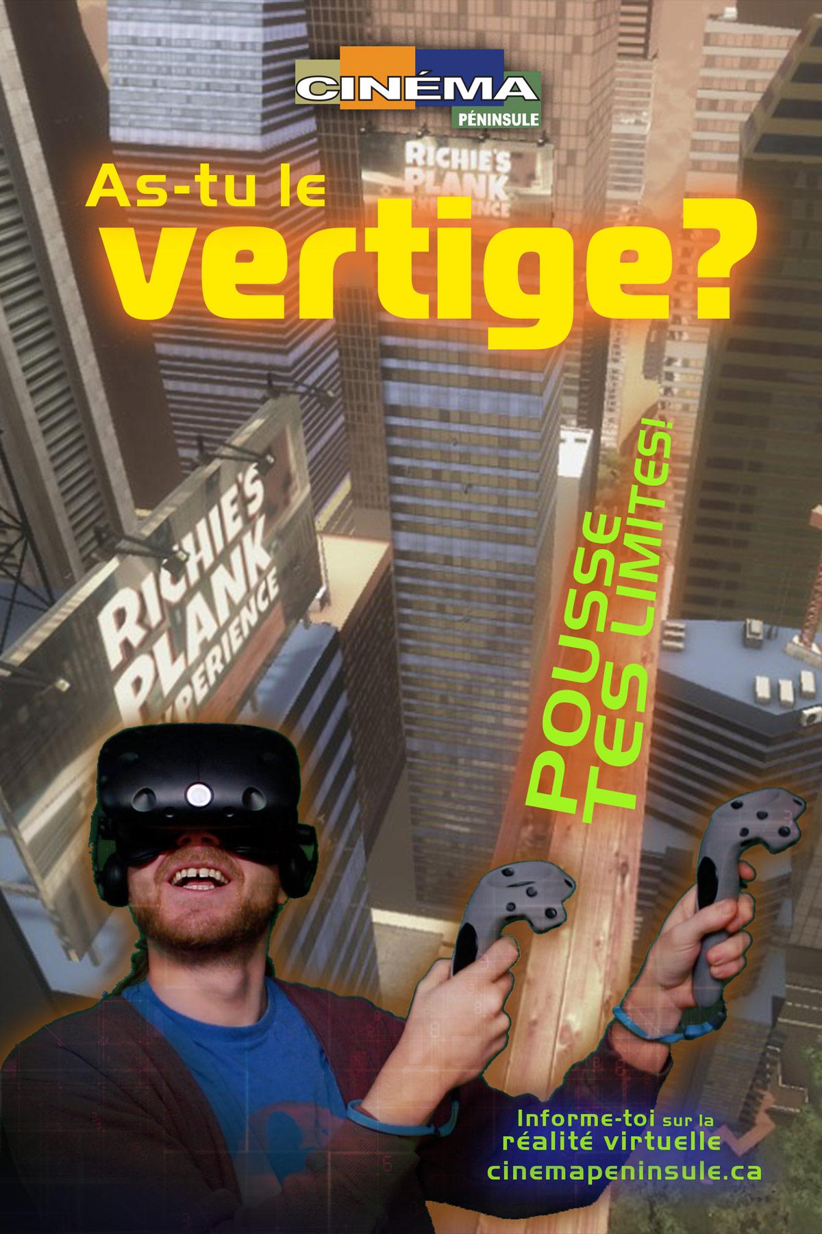 Pousse tes limite avec la réalité viruelle