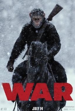 Affiche du film La guerre de la planète des singes