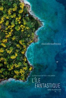 Affiche du film L'île fantastique de Blumhouse