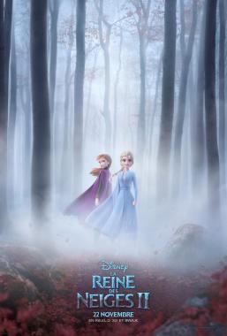 Affiche du film La reine des neiges 2