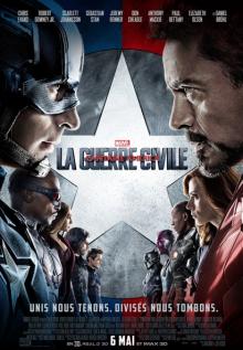 Affiche du film Capitaine America : La guerre civile