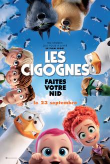 Affiche du film Les cigognes