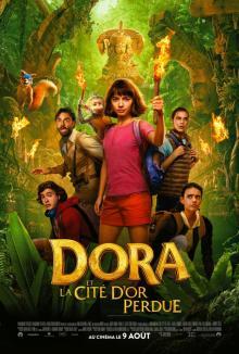 Affiche du film Dora et la cité d'or perdue