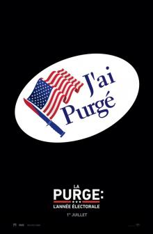 Affiche du film La purge : L'année électorale