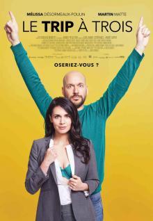 Affiche du fil Le Trip à trois au Cinéma Péninsule
