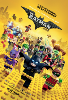 Affiche du film Lego Batman le film