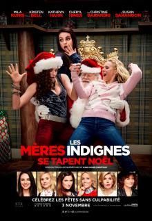 Affiche du film Les mères indignes se tapent Noël