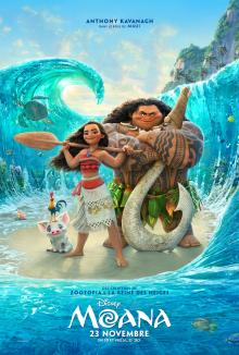 Affiche du film Moana