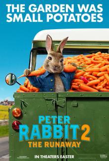 Affiche du film Pierre Lapin 2 : Le fugueur