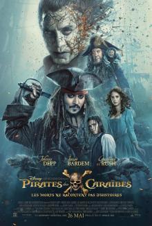 Affiche du film Pirates des Caraïbes: Les morts ne racontent pas d'histoires