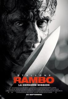 Affiche du film Rambo : La dernière mission