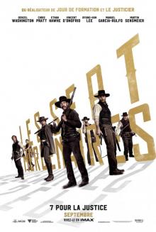 Affiche du film Les sept mercenaires