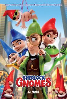 Affiche du film Sherlock Gnomes