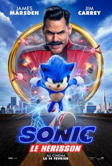Affiche du film Sonic le hérisson