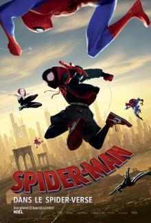 Affiche du film Spider-Man : Dans le spider-verse