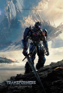 Affiche du film Transformers : Le dernier chevalier