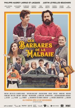 Affiche du film Les Barbares de La Malbaie