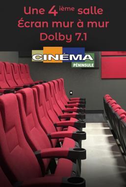 Une 4 ième salle de cinéma