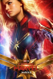 Affiche du film Capitaine Marvel