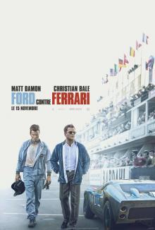 Affiche du film Ford contre Ferrari