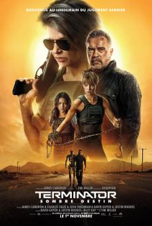 Affiche du film Terminator : Sombre destin